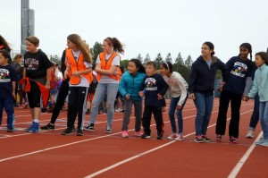 special olympics kids, start of race